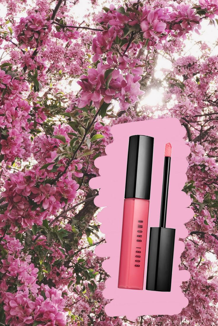 5.17 lipstick shades for summer (Bobbi Brown lip gloss in rosy)