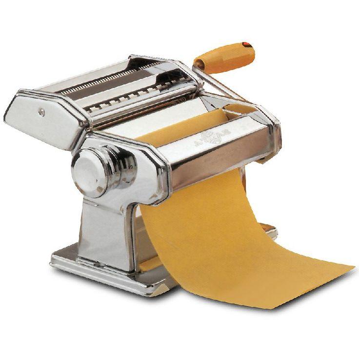 Maquina para pasta: Funciona a mano con manija,sirve para extender la pasta con un rodillo y también para cortarla.