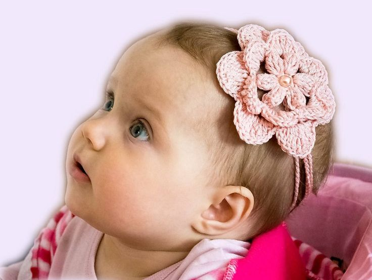 Christening Headband, Baptism headband, Trendy Baby, Headbands Rustic, Headband floral toddler, Head wraps toddler girl, Head wrap floral   A baby headband for summer outdoor walks. Crocheted in the shape of a flower. For the dressing cotton yarn is used. Your baby will be the nicest in this headgear. It can be a gift for christening, birthday or for a photo session of the baby.  The size Diameter of a flower is 3.5 inches (9 cm) The volume of the head is 15 inches (38 cm),   You can see…