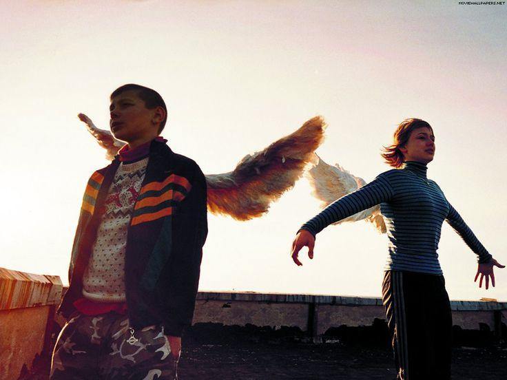 Lilja 4-ever, 2002. Director Lukas Moodysson, starring Oksana Akinshina as Lilja and Artyom Bogucharsky as Volodya.