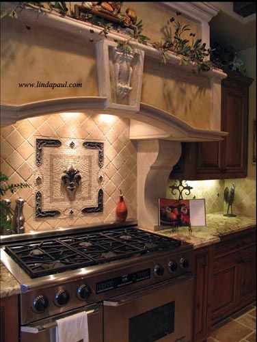 Mosaic Tile Medallions Are A Wonderful Kitchen Backsplash Idea. They Can  Transform A Kitchen.
