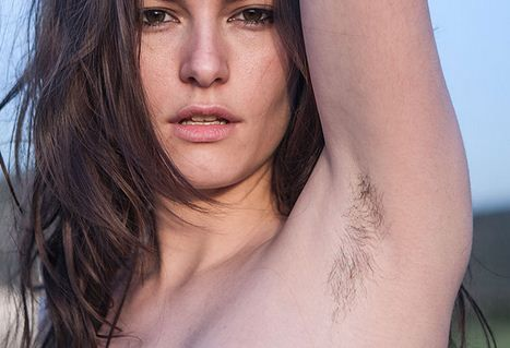 Female Underarm Hair Is Natural