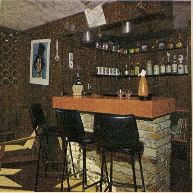 17 best images about a retro basement on pinterest shag for Retro basement ideas