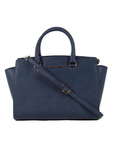 MICHAEL KORS Michael Kors Selma Lg Tz Satchel. #michaelkors #bags #leather #hand bags #satchel