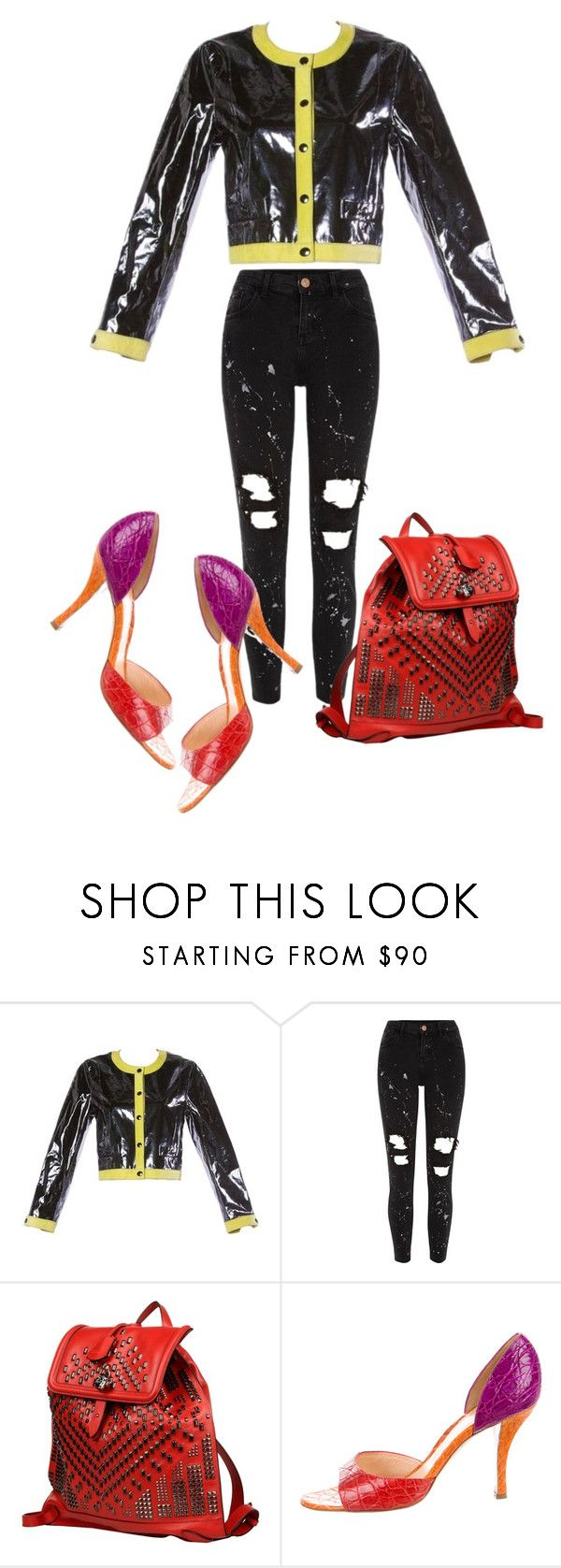 """""""the person from the sheriff's office who called to threaten me that I will go to jail had an indian accent...... should be easy to find ....."""" by awewa ❤ liked on Polyvore featuring River Island, Alexander McQueen and Sergio Rossi"""