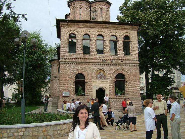 A Church in the center of Pitesti, Romania 2004.
