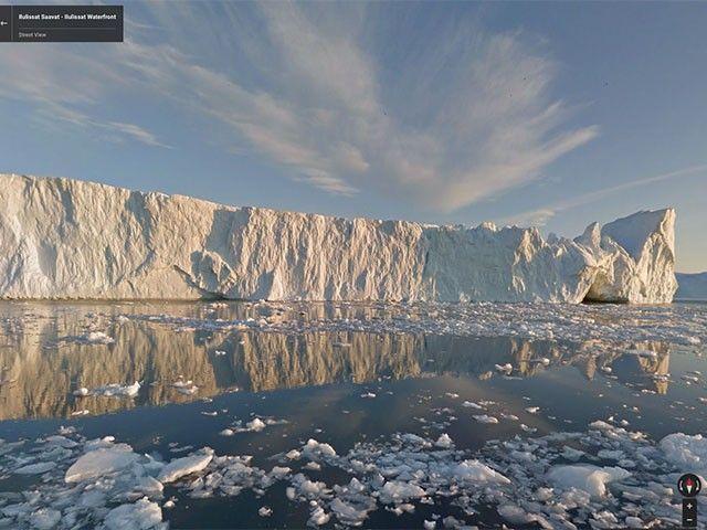 Tu veux visiter le #Groenland ? C'est possible avec #Google #Street #View