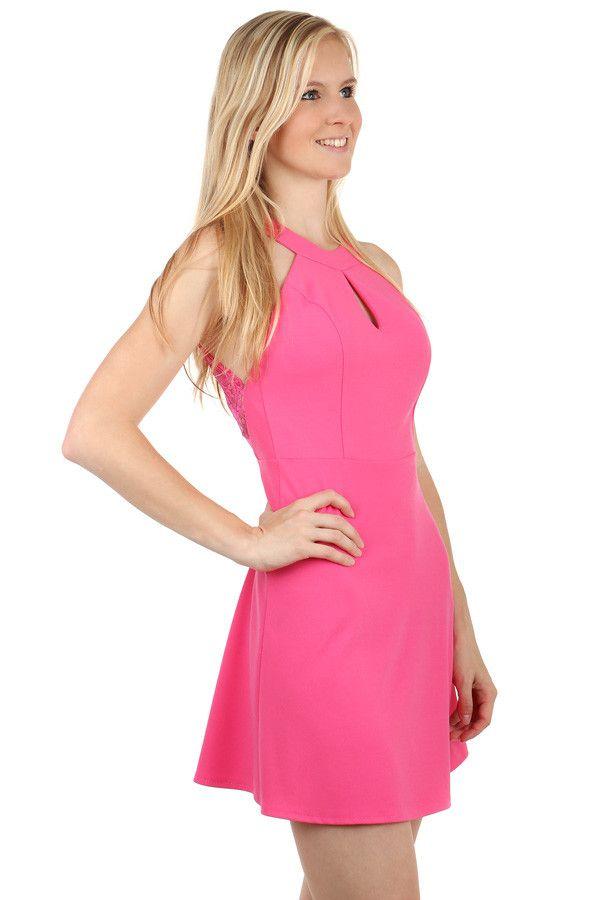 Růžové šaty na párty - Glami.cz