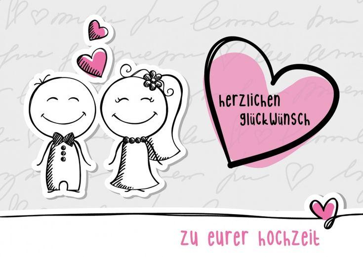 Herzlichen Glückwunsch zu Eurer Hochzeit | Glückwünsche | Echte Postkarten online versenden | MyPostcard.com
