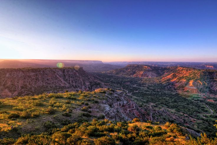 Best Natural Wonders in the South: Palo Duro Canyon (Texas)