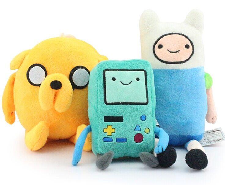 3шт / много время приключений 11  финн и джейк 8  Beemo вмо плюш кукла игрушки лучшая игрушка