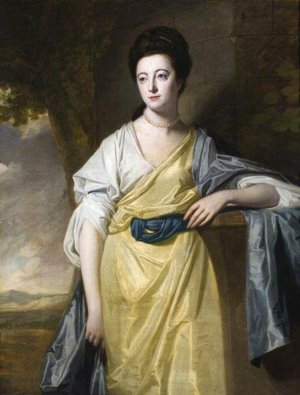 Mary Bold (1740–1824), Mrs Thomas Hunt III by George Romney, 1769.