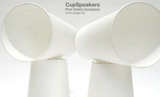 """Create """"Speakers"""" from Earbuds and Paper Cups"""