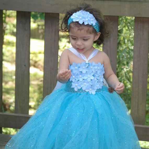 Frozen dress ,frozen tutu dress,birthday dress,  tutu dress