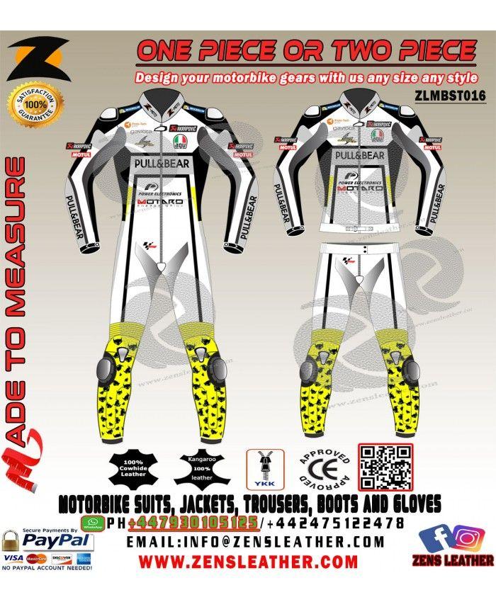 Aprilia Motorbiker Suit Motorcycle Suit One piece Two Piece Leather Cowhide Suit