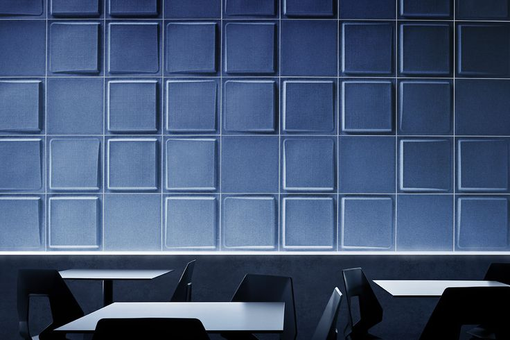 Atmosfera in blu, design moderno