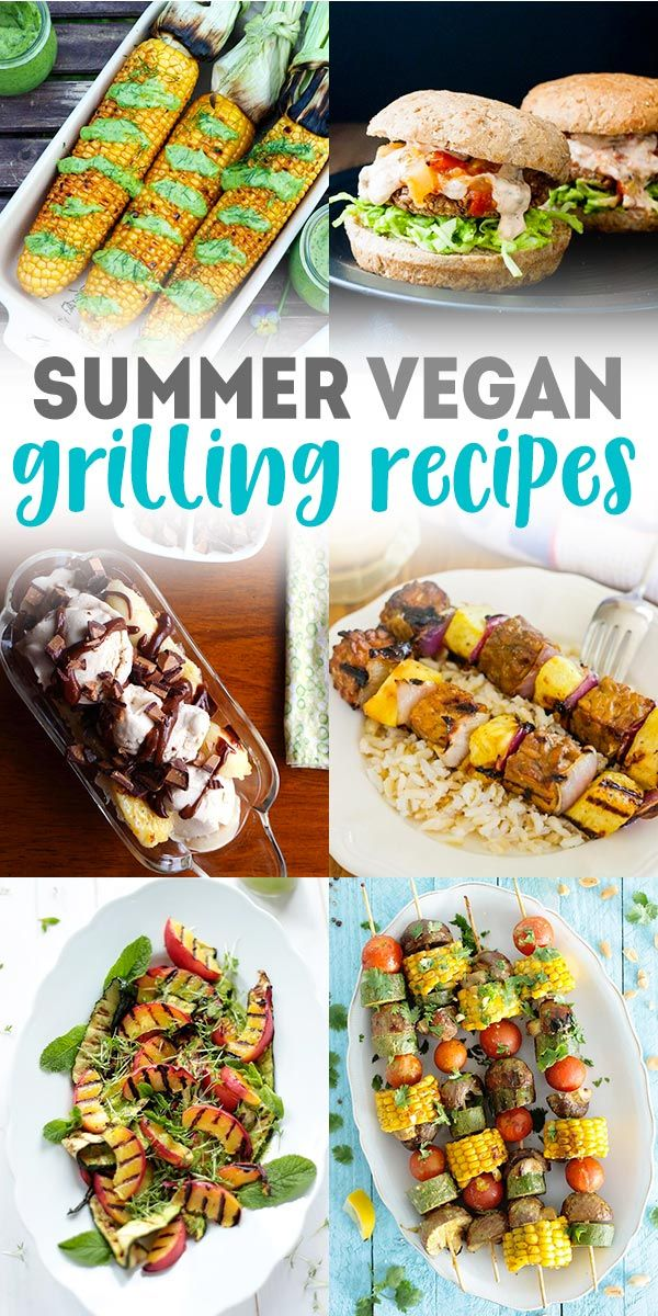 20 Tasty Vegan Grilling Recipes
