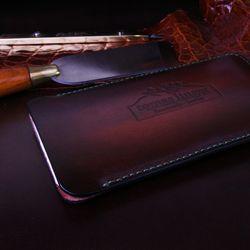 Kožené peněženky a kožená iphone 6 pouzdra - fotogalerie - Kožené peněženky české výroby