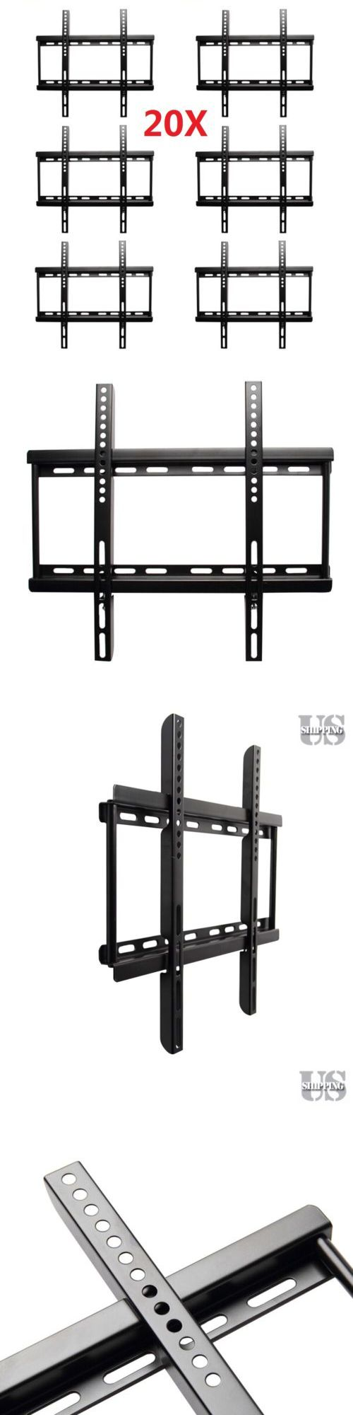 TV Mounts and Brackets: 20 Pack - Tv Wall Mount Bracket Lcd Led Plasma Flat 27 32 37 40 42 46 47 50 55 -> BUY IT NOW ONLY: $128 on eBay!