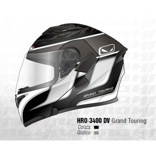 Zeus helmets price in India - HRO 3400 Grand Touring - Rs6,743.00
