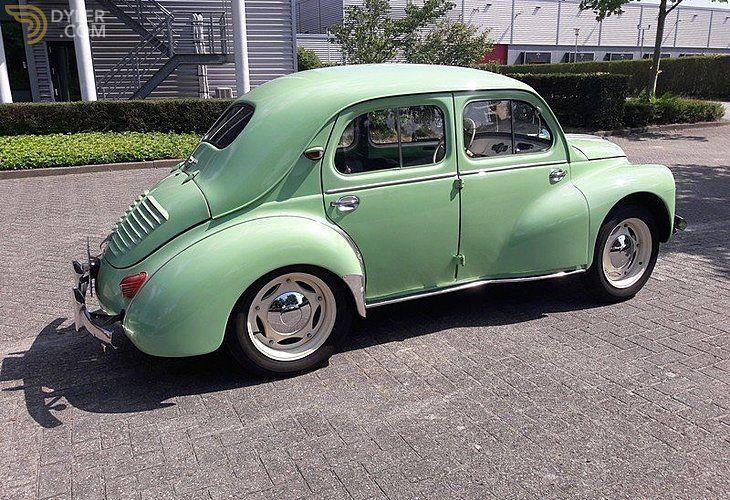 Classic 1954 Renault 4cv Affaire For Sale Price 9 250 Eur Dyler Renault Renault 4 Saloon