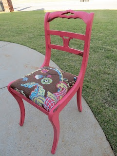 This chair is pretty in pinkRocks Chairs,  Rocker, Pretty In Pink, Painting Furniture, Everything'S Pink