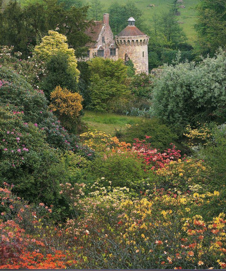 Scotney Castle - Lamberhurst - Tunbridge Wells - Kent - England ...