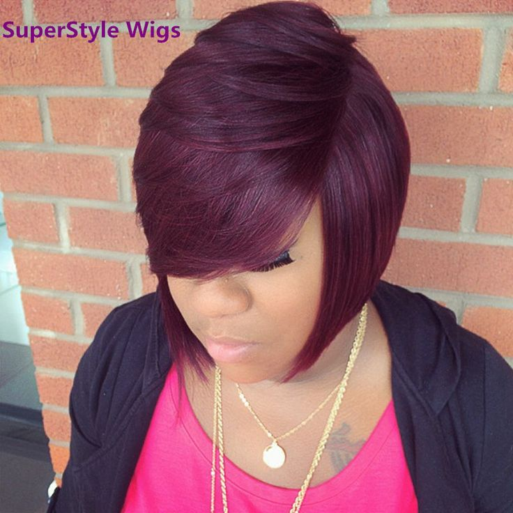 Short Curly Synthetic Heat Resistant Fiber Red Hair Wig For Black Women Curly Synthetic Wigs Free Shipping