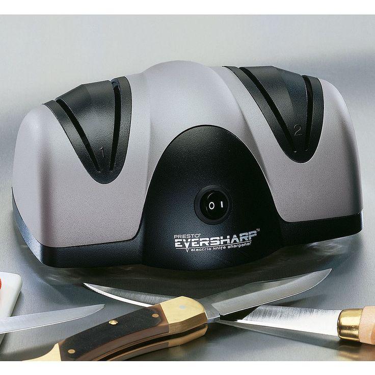 Presto EverSharp Electric Knife Sharpener, Multicolor