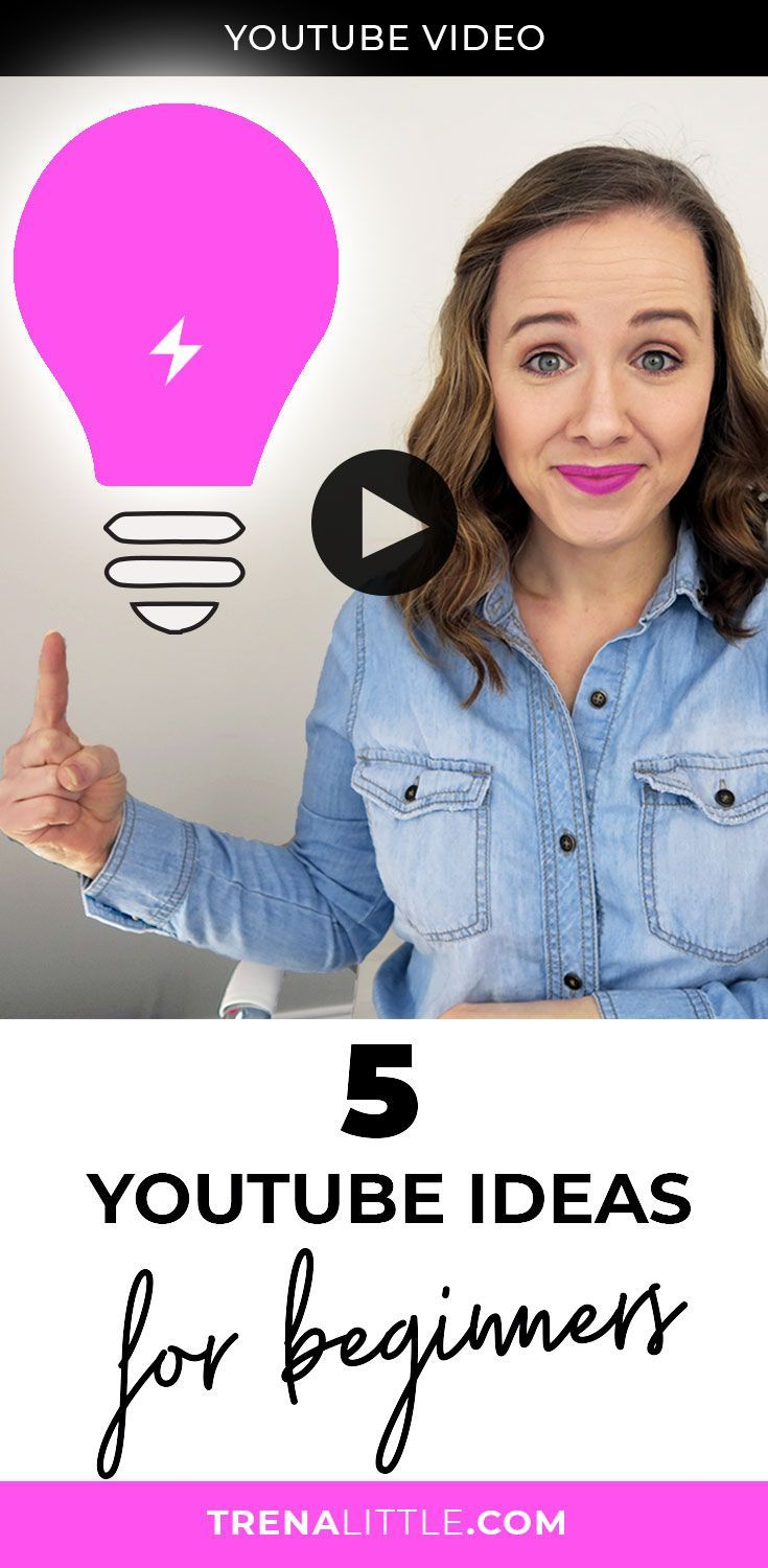 I've got 5 first video ideas you can use for your first YouTube video or inspire you for your next YouTube video idea. #youtubetips #youtube #entrepreneur #trenalittle #youtubevloggers #youtubevideo #bloggingtips #vlogger #VideoMarketing #videocontent
