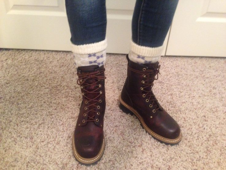 My Carolina Logger Boots - really beautiful and totally functional as well