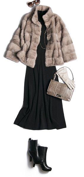 洗練された大人の30代・40代・50代のおしゃれを楽しむ、レディースファッション通販ディノスから、人気の【人気スタイリスト押田比呂美が、2015冬のお薦め