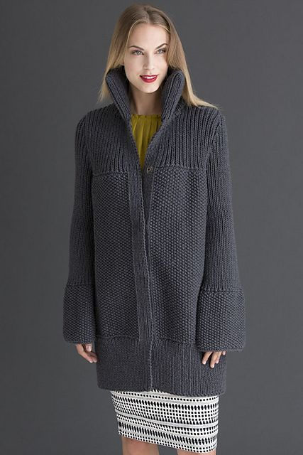 Ravelry: Constance Coat pattern by Lidia Karabinech