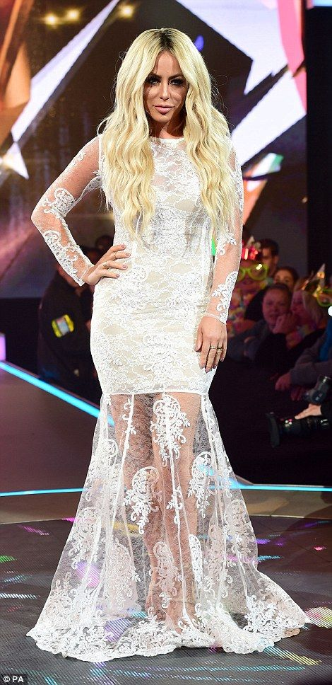Geordie Shore's Marnie Simpson, singer Aubrey O'Day and webcam stripper Chloe Mafia lead the Celebrity Big Brother line-up | Daily Mail Online