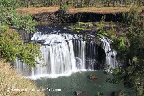 Millstream Falls  Atherton Tablelands, Queensland, Australia