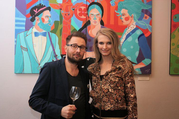Ania Piszczałka i Marcin Painta. 19 marca 2015 r. w Kartonovni – Centrum Sztuki w Warszawie odbył się wernisaż wystawy Marcina Painty pt. Postrzeganie. Ekspozycja została zorganizowana tytułem GRAND PRIX Konkursu MUZA 2014. http://artimperium.pl/wiadomosci/pokaz/526,marcin-painta-postrzeganie-czyli-kolejny-sukces-artysty#.VQ3GXY6G-So