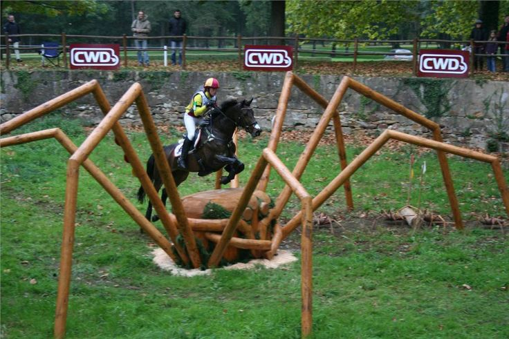 scary horse jump