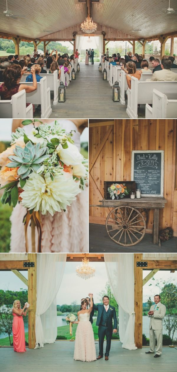 Nashville Wedding at Mint Springs Farm from Teale Photography | Style Me Pretty