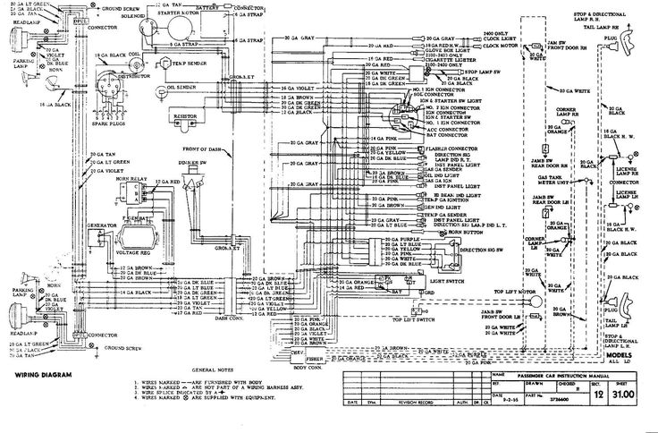 Wiring Diagram Cars Trucks | Diagram, Classic chevrolet ...