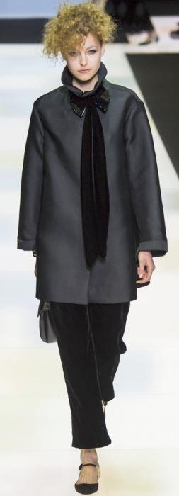 Осенняя модная верхняя одежда для полных на 2016 год - фото