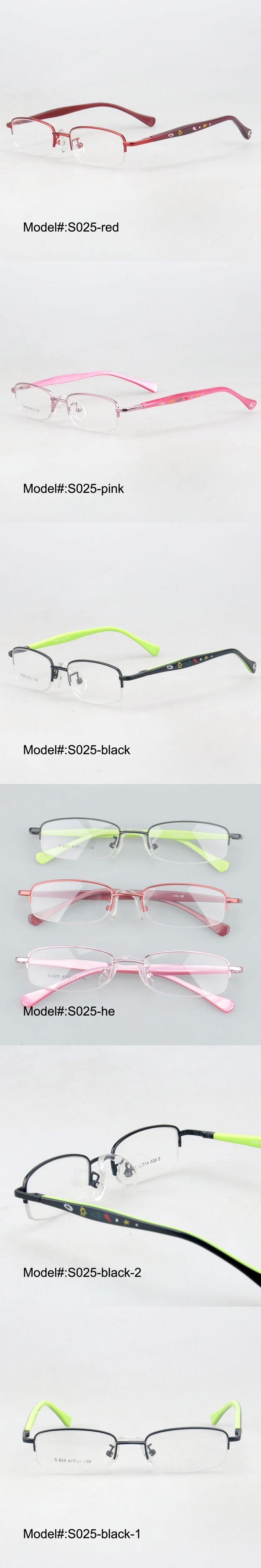 MY DOLI S025 Lovely colorful children metal frames acetate temple spring hinge prescription eyeglasses optical frame eyewear