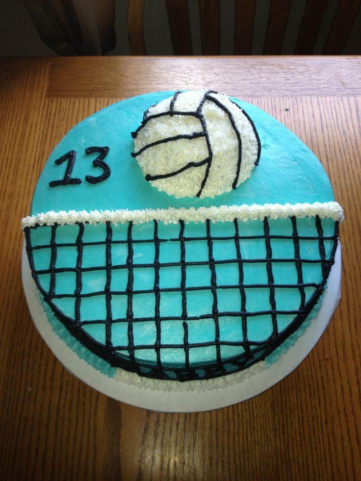 Vball cake