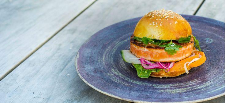 Asiatisk SALMA burger - Salma