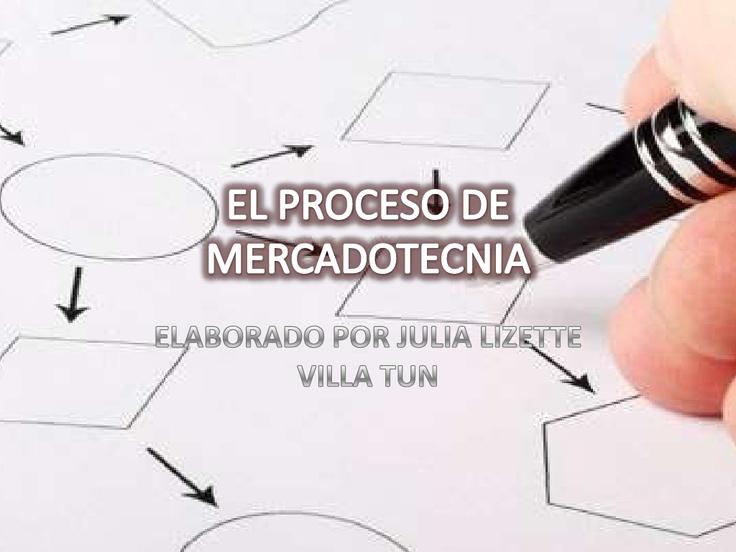 el-proceso-de-mercadotecnia by Liz Villa Tun via Slideshare