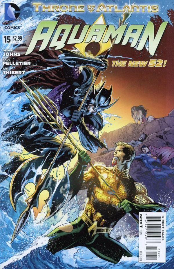 Aquaman #15 - Throne of Atlantis: Part Tow (comic book issue) - Comic Vine