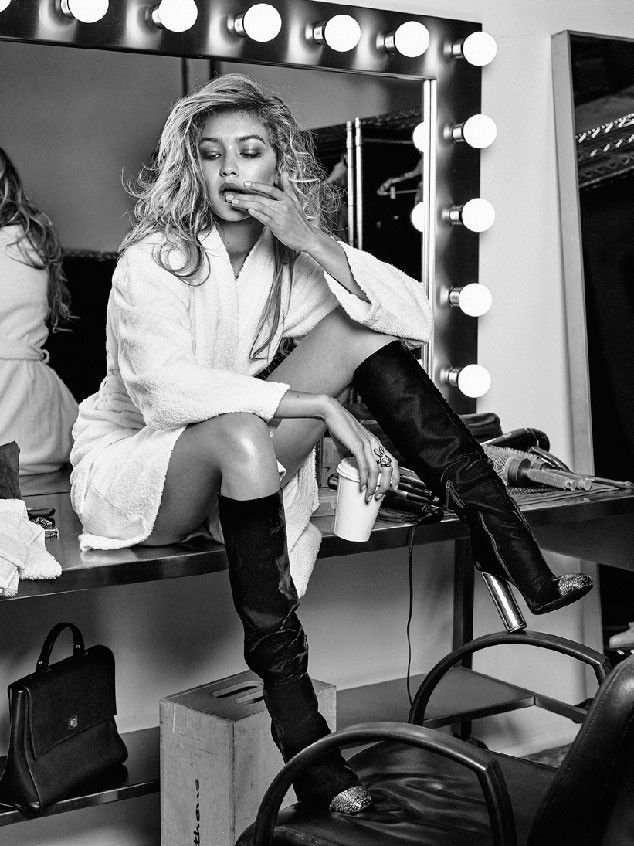 Gigi Hadid Stuns on the Cover and Inside the Pages of Vogue Netherlands—See the…