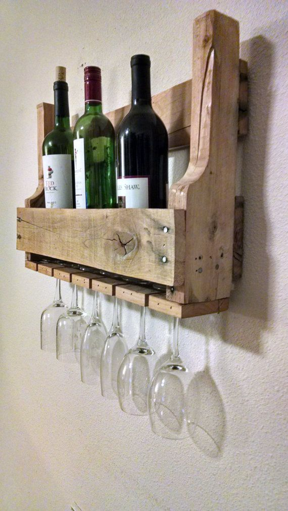 31 best images about wine racks on pinterest diy wine for Wine bottle shelf diy