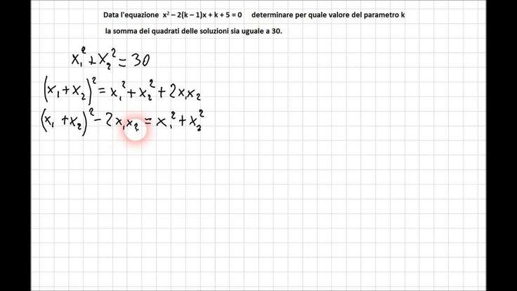 Equazioni parametriche 5