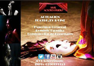 MVR Actor's Studio-Studio de Actores: Promo 2x1 Taller de Actuación,Teatro,TV & Cine