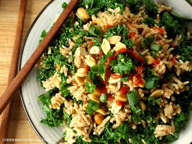 Connoisseurus Veg: Peanut Butter and Kale Fried Rice
